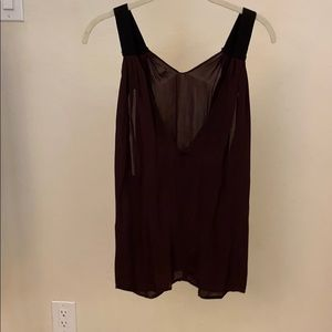 A.L.C. Silk cami with jersey lining